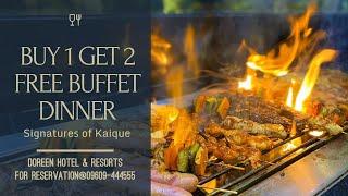 Doreen Hotel Resorts ll Signatures Restaurant ll Food Review