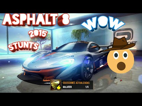 Asphalt 8 Airborne top 20 stunts in 2015 and different types of stunts