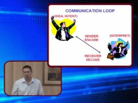 The Communications Loop - Sender