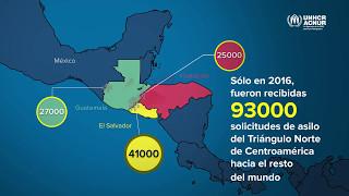 Solicitantes de asilo desde el Triángulo Norte de Centroamérica en 2016