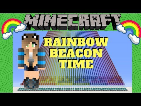 how to make minecraft beacon work