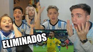 Download Video REACCION FAMILIA ARGENTINA vs BRASIL 2-0 Copa America 2019 MP3 3GP MP4