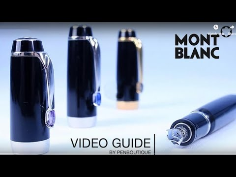 Montblanc Pens - A quick guide as to what is what?
