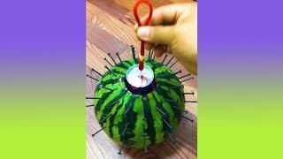 มาทำการทดลองบักแตงโมกันครับ (รวมคลิปความพึงพอใจ)