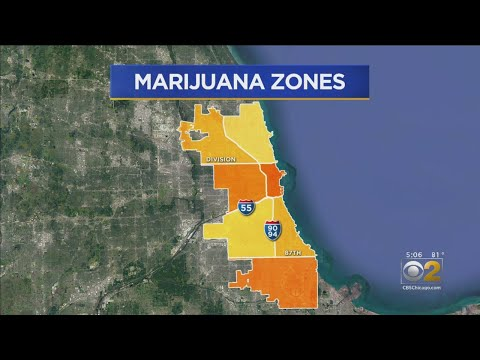 Mapping Out Pot Sales In Chicago