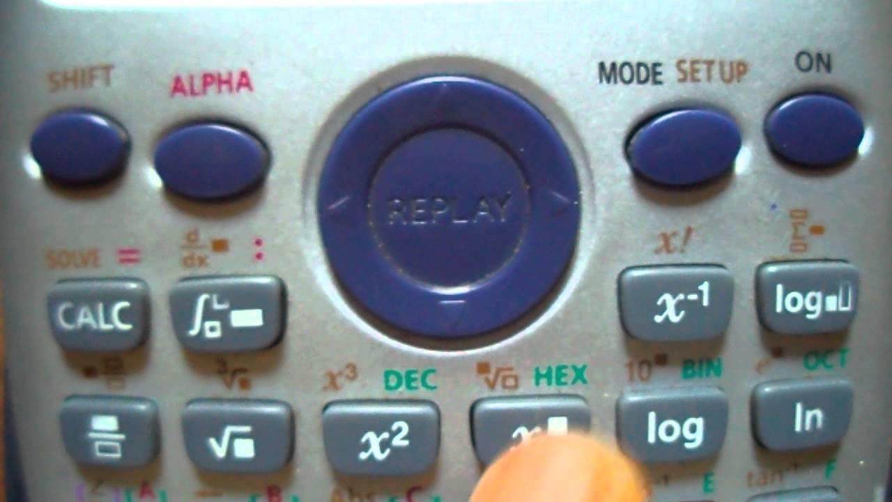 Casio fx-991ES Trick to Surprise Your Friends