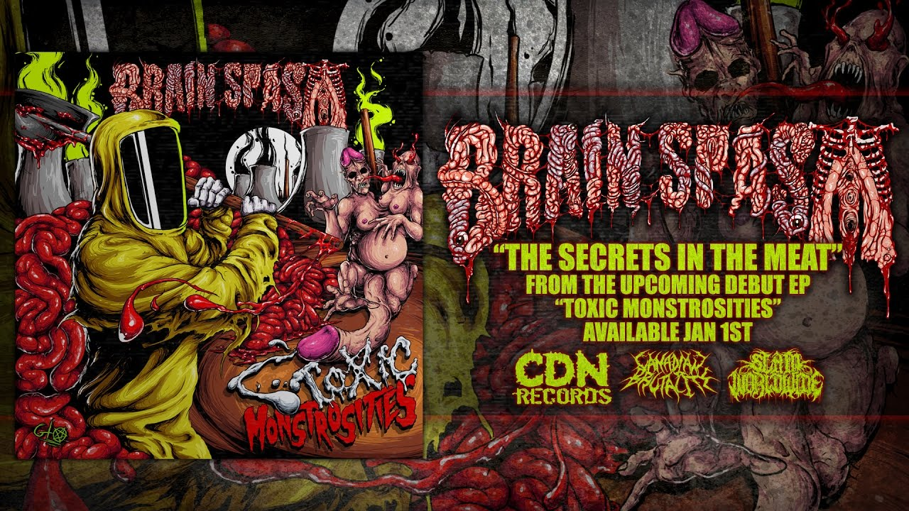 BRAIN SPASM - THE SECRETS IN THE MEAT [SINGLE] (2016) SW EXCLUSIVE