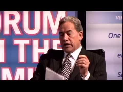 Winston Peters interviewed by Bob McCoskrie - Forum on the Family 2014