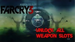 Unlock ALL Weapon Slots in Far Cry 3! - Tutorial - Carry more weapons!