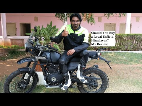 Should You Buy a Royal Enfield Himalayan? My Review.