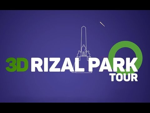 3D Rizal Park Virtual Tour iOS App - #nakapuntakanaba ?