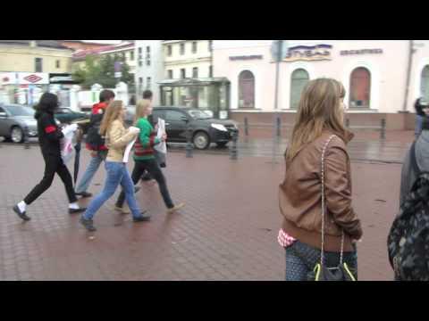 Видео: Нижний Новгород Майкл Джексон Обними меня