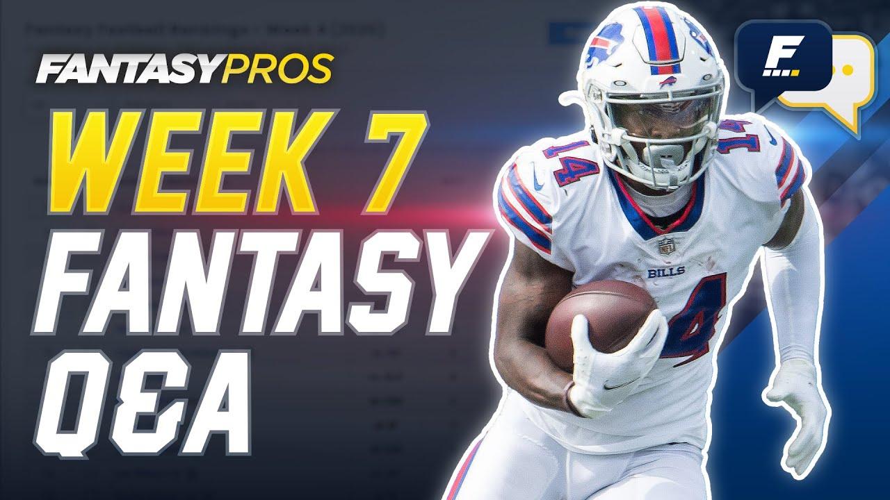 FantasyPros Live: Week 7 Q&A with Kyle Yates (2020 Fantasy Football)