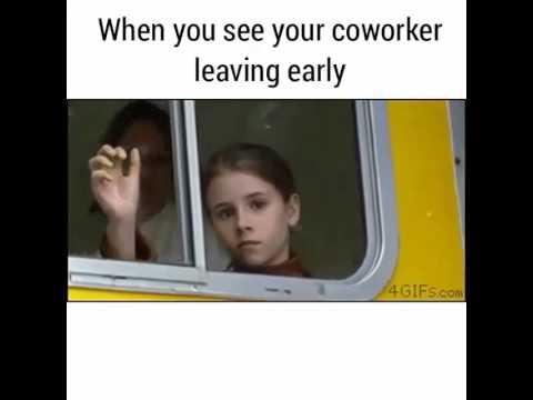 20 Leaving Work Meme For Wearied Employees | SayingImages.com |Leaving Work Early Meme