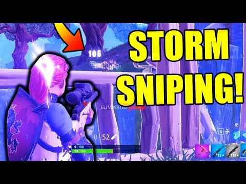 CAMPING IN THE STORM?! (Fortnite Battle Royale Solo Win Gameplay)