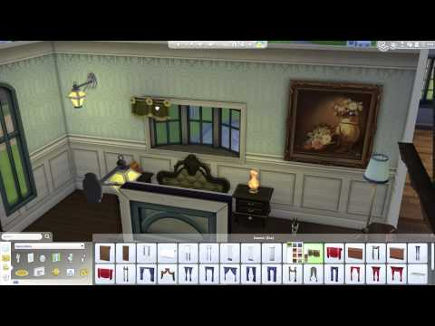 The Sims 4: Building a Home - Furnishing the Bedroom & Bathroom