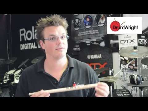 DrumWright Quick Guide to Vic Firth SD9 Driver Drum Sticks