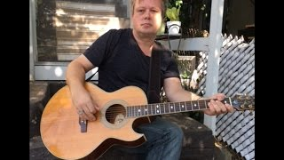 Stayin' Alive - Bee Gees - Guitar Lesson by THE SWEDE