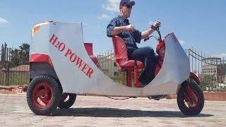"""بالفيديو والصور- مخترع سيارة بدون بنزين.. أهملته الدولة فأصيب بالإحباط و""""بطل اختراعات"""""""