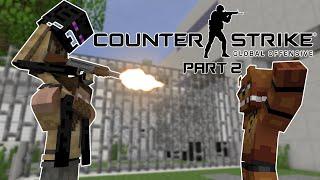 FNAF vs Mobs: CS:GO Challenge Part 2 - Monster School (Five Nights At Freddy's)
