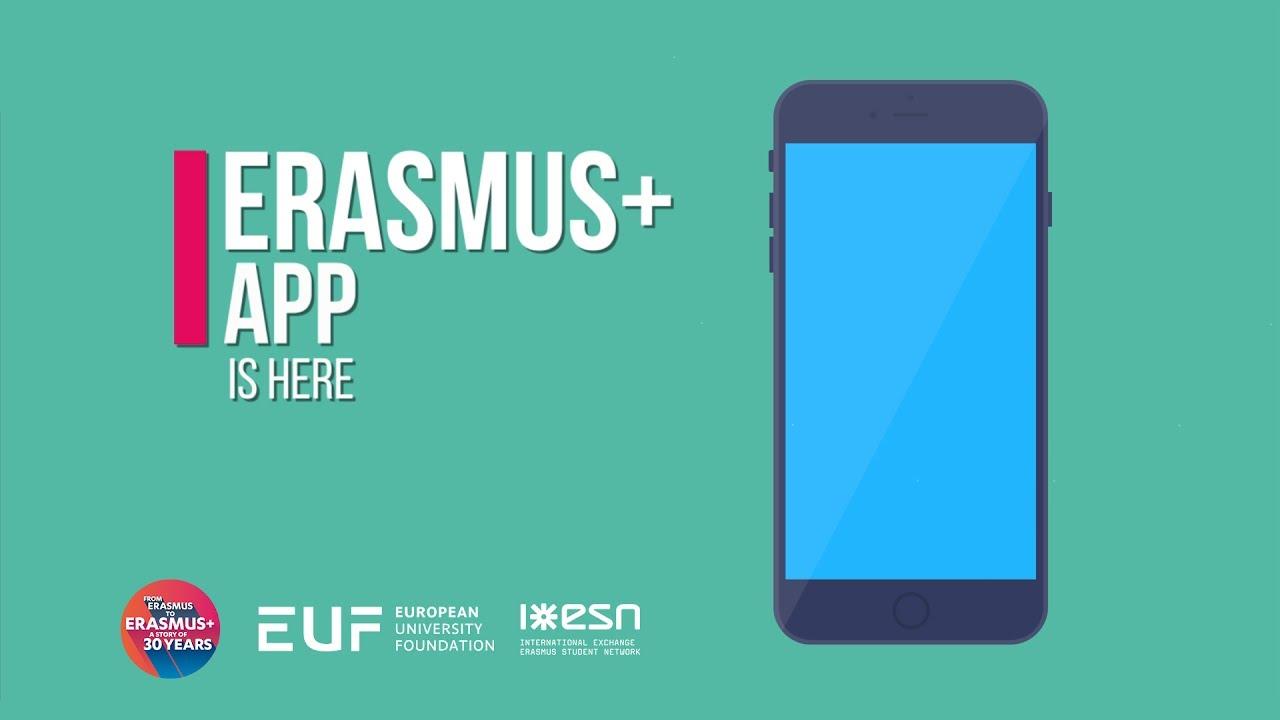 Erasmus+ Mobile App | Erasmus+ at your finger tips!