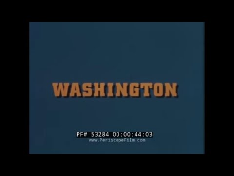 1960s WASHINGTON STATE TRAVELOGUE FILM
