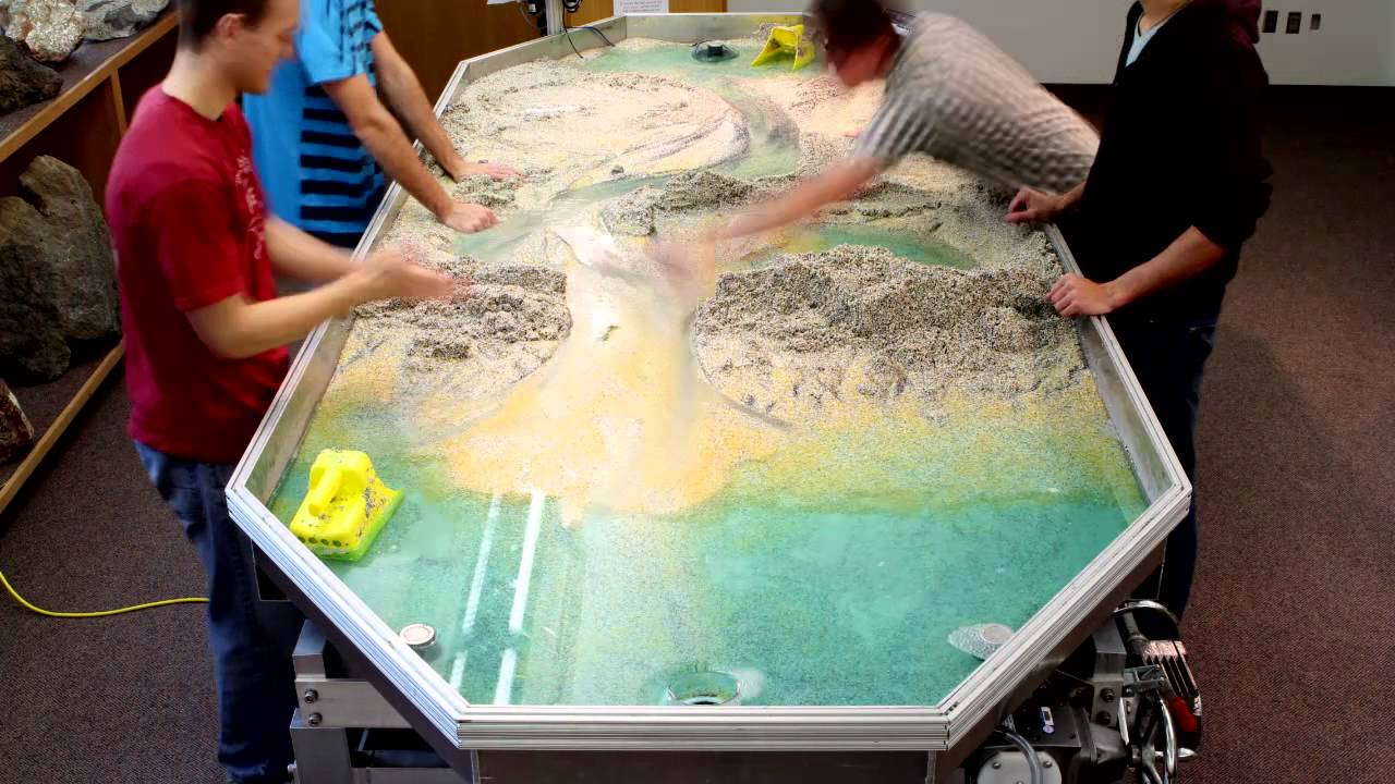 Little River Stream Table Time Lapse Youtube