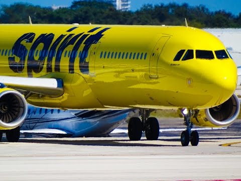 SPIRIT AIRLINES @ Fort Lauderdale-Hollywood International Airport