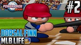 MLB Power Pros 2008 MLB Life Mode | Dorsal Finn (Third Baseman) | EP2 | TRIPLE-A DEBUT
