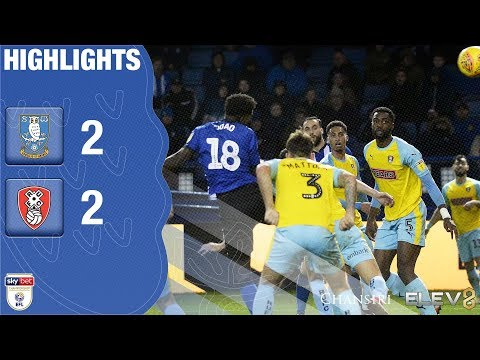 Sheffield Wednesday 2 Rotherham United 2 | Extended highlights | 2018/19