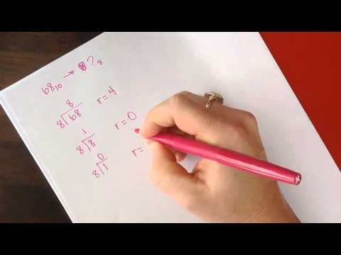 Converting From Decimal To Octal Example1