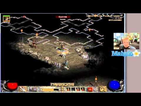 Diablo 2 LoD Paladin Walkthrough - Act 1.6 - Passage and Dark Wood
