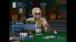 World Poker Tour PlayStation 2 Gameplay - Montage Video