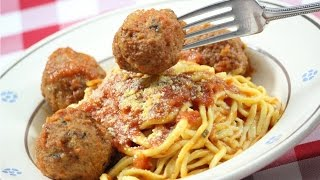 How to make Spaghetti  and Meatballs - Original Italian Recipes by Rossella