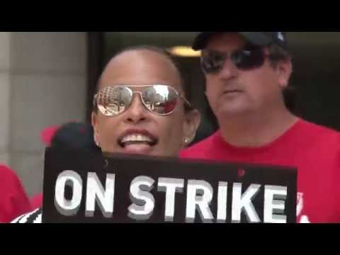 Standing Strong With Verizon Workers.