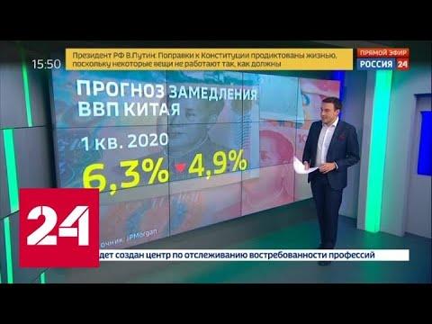 Вирус, убивающий экономику: какие отрасли на жёстком карантине - Россия 24