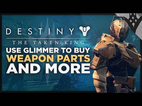 Destiny: The Taken King - Buy Weapons Parts From The Gunsmith Plus Worm Spore & Etheric Light Update