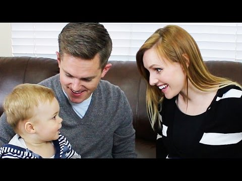 baby name reveal ellie and jared youtube. Black Bedroom Furniture Sets. Home Design Ideas