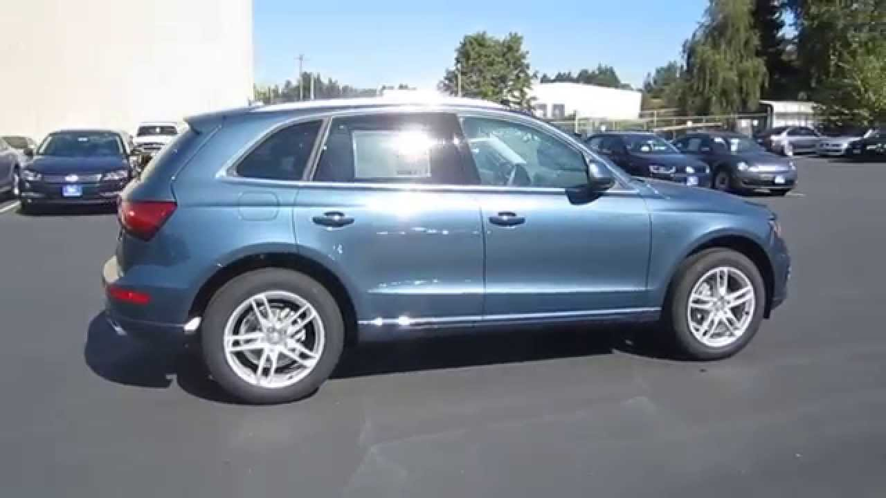 2015 Audi Q5 Utopia Blue Metallic Stock 110106 Walk