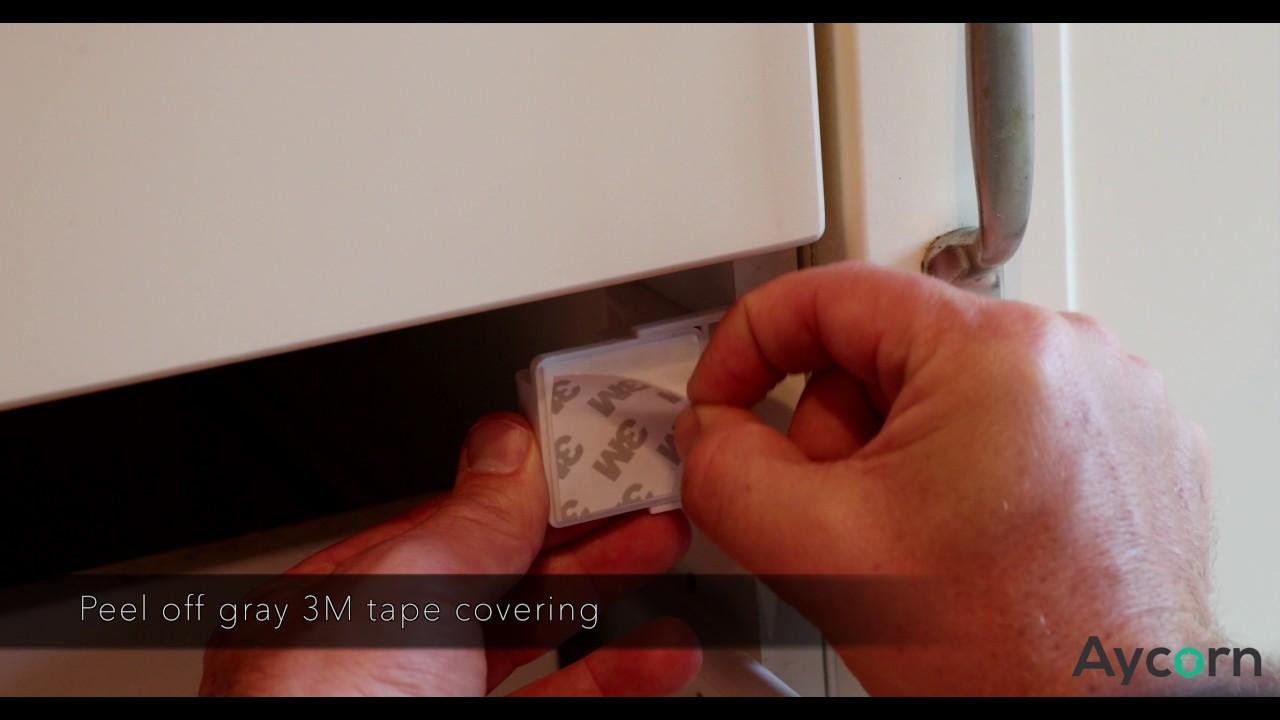 10 Locks /& 2 Keys, AYCORN Child /& Baby Safety Proof Magnetic Cupboard Locks