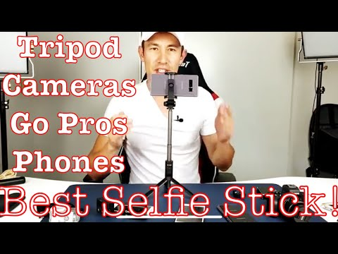 Best Selife Stick & Why? Tripod, Phones, Cameras, Go Pros, Bluetooth Remote, etc