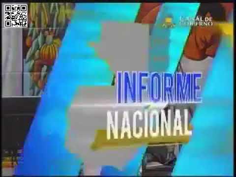 Resultado de imagen para INFORME NACIONAL CANAL DE GOBIERNO