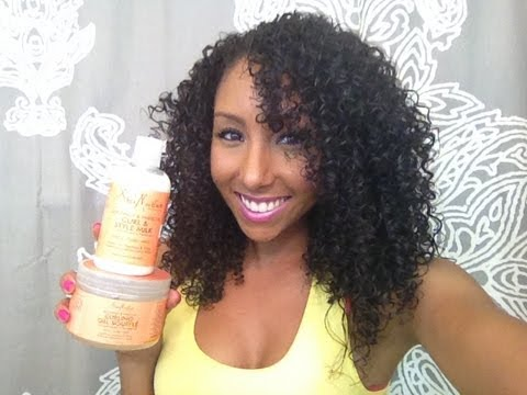 My Curly Hair Routine Biancareneetoday Youtube