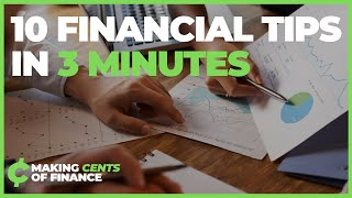 10 Financial TIPS You Need Follow! (Personal Finance & Investing Tips)