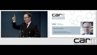 carIT Kongress 2014: Matthias Wissmann (VDA)