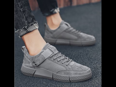 Casual Canvas Sneakers For Men