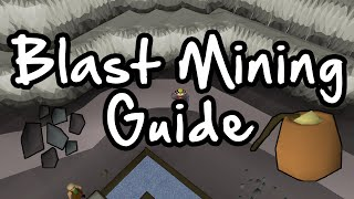 Old School RuneScape Blast Mining Guide | 75k XP & 650k GP Per Hour