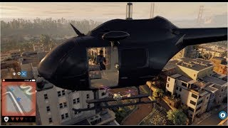 watch dogs 2 parkour tricks stunts can a quadcopter get inside a helicopter?? free roam