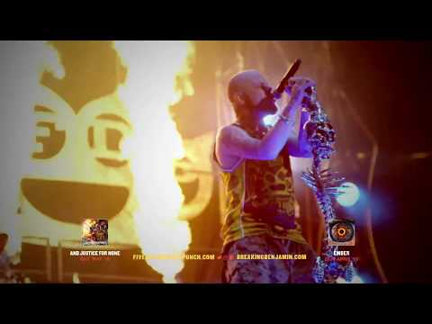 Five Finger Death Punch + Breaking Benjamin - Summer 2018