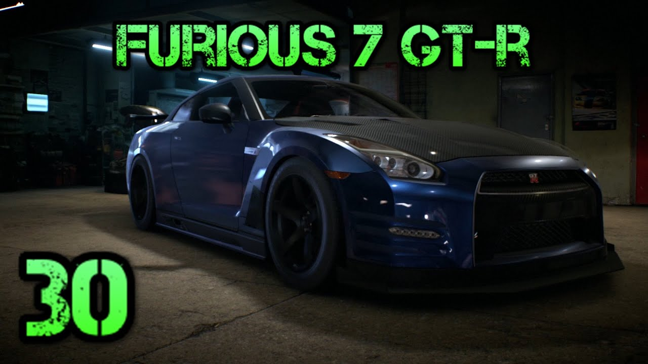 Need For Speed 2015 Brian S Nissan Gt R From Furious 7